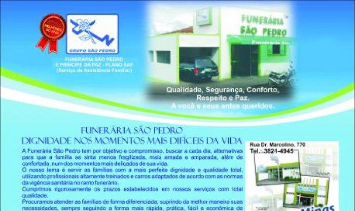 GRUPO SÃO PEDRO E HOMENAGEADO COMO MELHORES DE 2011 PELA REVISTA PODIO