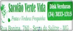 SACOL�O VERDE VIDA